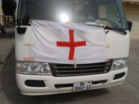 Red Cross Bus